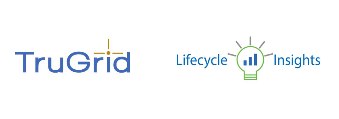 TruGrid logo and Lifecycle Insights logo