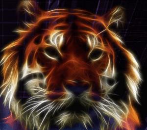 lab tech tiger logo